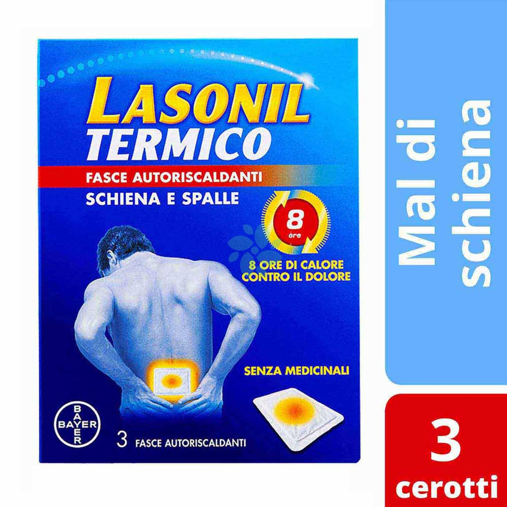 Bayer Lasonil Termico Fasce Autoriscaldanti Semprefarmacia It