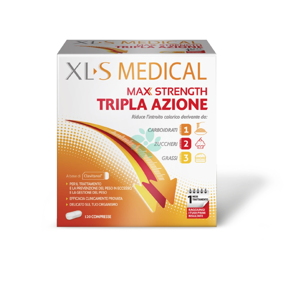 Xls Medical Max Strength Integratore Alimentare 120 Compresse